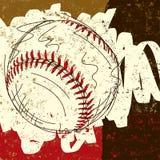 Fundo do basebol Fotografia de Stock Royalty Free