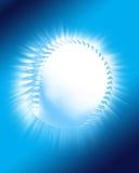 Fundo do basebol ilustração royalty free