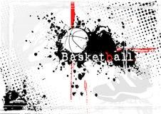 Fundo do basquetebol ilustração stock