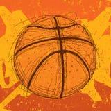 Fundo do basquetebol Imagens de Stock Royalty Free