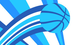 Fundo do basquetebol Foto de Stock Royalty Free