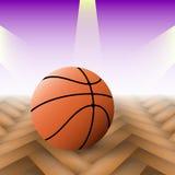 Fundo do basquetebol Fotografia de Stock Royalty Free
