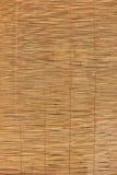 Fundo do bastão de bambu tecido Foto de Stock