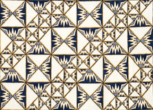 Fundo do Batik Foto de Stock Royalty Free