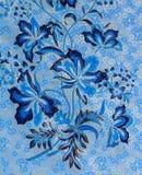 Fundo do Batik Imagens de Stock