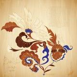 Fundo do Batik Imagem de Stock
