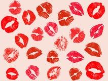 Fundo do beijo do vetor Imagem de Stock Royalty Free