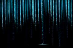 Fundo do binário da matriz Fotografia de Stock