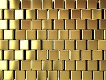 Fundo do bloco do ouro Fotos de Stock