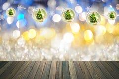 Fundo do bokeh do Natal Imagem de Stock Royalty Free