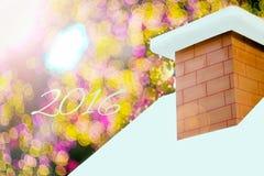 Fundo do bokeh do Natal Imagem de Stock