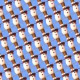 Fundo do boneco de neve Imagens de Stock