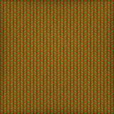 Fundo do bordado, teste padrão verde vermelho Eps 10 Imagem de Stock Royalty Free
