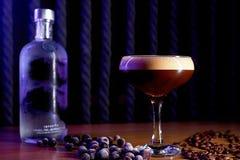 Fundo do borrão do cocktail do álcool fotografia de stock royalty free