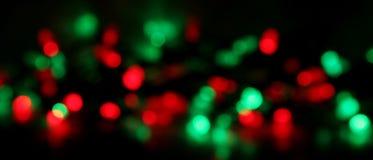 Fundo do borrão da luz de Natal Imagens de Stock Royalty Free
