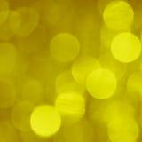 Fundo do borrão do ouro - foto conservada em estoque Fotos de Stock Royalty Free