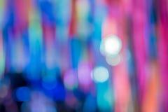 Fundo do borrão e luz coloridos do borrão Imagens de Stock