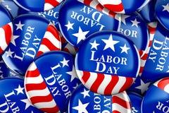 Fundo do botão do Dia do Trabalhador Imagem de Stock
