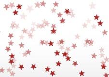 Fundo do branco da estrela imagens de stock royalty free