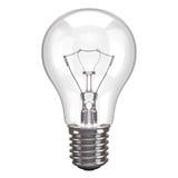 Fundo do branco da lâmpada Imagens de Stock Royalty Free