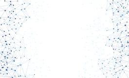 Fundo do branco das comunicações globais ilustração royalty free