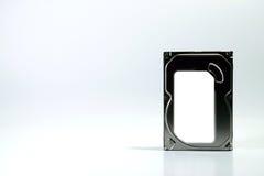 Fundo do branco do disco duro Imagem de Stock