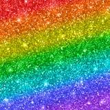 Fundo do brilho do arco-íris Vetor ilustração do vetor