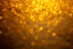 Fundo do brilho do ouro fotografia de stock royalty free