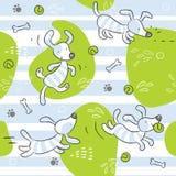 Fundo do cão do bebê Imagem de Stock
