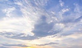 Fundo do céu azul Imagens de Stock