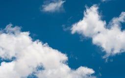 Fundo do céu azul Foto de Stock Royalty Free