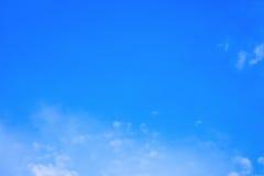 Fundo do céu azul Imagens de Stock Royalty Free