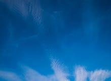Fundo do céu azul Fotos de Stock
