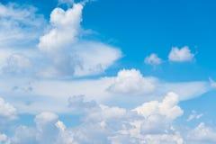 Fundo do céu azul Imagem de Stock