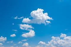 Fundo do céu azul Fotos de Stock Royalty Free
