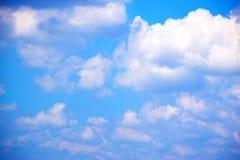 Fundo 171018 0168 do céu azul e das nuvens Imagens de Stock