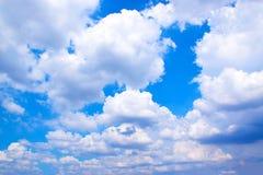 Fundo 171018 0174 do céu azul e das nuvens Fotos de Stock Royalty Free