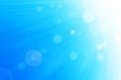 Fundo do céu azul e dos círculos Imagem de Stock Royalty Free