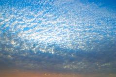 Fundo do céu. Composição da natureza. Foto de Stock