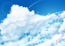 Fundo do céu do Anime - dia Fotos de Stock
