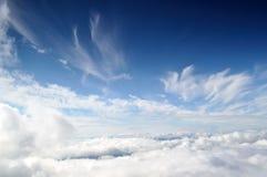 Fundo do céu e das nuvens Imagens de Stock