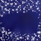 Fundo do céu noturno com estrelas ilustração do vetor