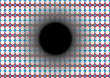 Fundo do círculo 3D do vetor ilustração stock