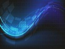 Fundo do código binário Imagem de Stock