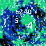 Fundo do código de Digitas Imagens de Stock
