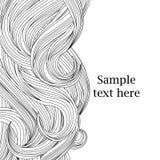 Fundo do cabelo Imagens de Stock