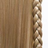 Fundo do cabelo reto Imagens de Stock