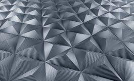 Fundo do carbono do triângulo Foto de Stock Royalty Free