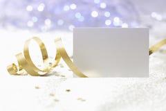 Fundo do cartão de Natal Imagens de Stock