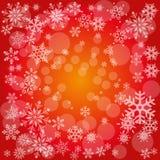 Fundo do cartão de Natal Foto de Stock Royalty Free